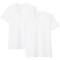 추가이미지1(사이드 심리스·2장 세트 · V넥 반소매 티셔츠)