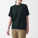 코튼 레이온 · 반소매 스웨터