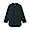BLACK(인도면 혼방 와플 편직 · 7부소매 티셔츠)