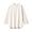 OFF WHITE(인도면 혼방 와플 편직 · 7부소매 티셔츠)