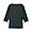 BLACK(스트레치 후라이스 · 보트넥 7부소매 티셔츠)