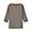 GRAYISH BROWN(스트레치 후라이스 · 보트넥 7부소매 티셔츠)