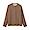GRAYISH BROWN(면 플란넬 · 스탠드칼라 셔츠)