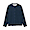 NAVY CHECK(면 플란넬 · 스탠드칼라 셔츠)