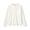 OFF WHITE(면 플란넬 · 스탠드칼라 셔츠)