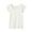 OFF WHITE(사이드 심리스 울 · 프렌치 슬리브 티셔츠)