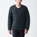 경량 포케터블 · 노 칼라 다운 재킷