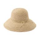 와이드 챙 모자