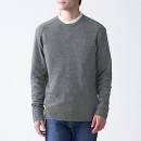 야크 혼방 울 · 크루넥 스웨터