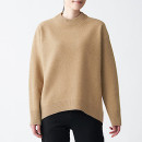 캐멀 울 혼방 · 크루넥 스웨터