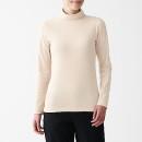 스트레치 후라이스 · 터틀넥 긴소매 티셔츠