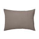 베개 커버 · 50×70 · 라이트브라운 · 워싱면