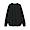 BLACK(인도면 혼방 와플편직 · 긴소매 티셔츠)