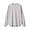 LIGHT SILVER GRAY(인도면 혼방 와플편직 · 긴소매 티셔츠)