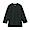 BLACK(인도면 혼방 와플편직 · 7부소매 티셔츠)