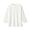 WHITE(인도면 혼방 와플편직 · 7부소매 티셔츠)
