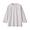 LIGHT SILVER GRAY(인도면 혼방 와플편직 · 7부소매 티셔츠)