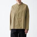 태번수 워싱 옥스포드 · 리버시블 셔츠 재킷