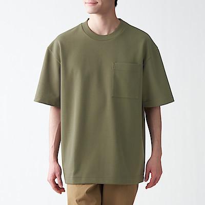 인도면 혼방 이중편직 · 빅 티셔츠