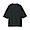 BLACK(미니 테리 · 5부소매 티셔츠)