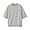 LIGHT GRAY(미니 테리 · 5부소매 티셔츠)