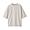 LIGHT SILVER GRAY(미니 테리 · 5부소매 티셔츠)