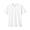 WHITE(인도면 저지 · V넥 티셔츠)