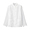 WHITE(프렌치 리넨 워싱 · 매듭 단추 셔츠)