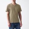 슬러브 저지 · V넥 티셔츠 상품이미지
