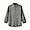 GRAY(프렌치 리넨 워싱 · 버튼다운 7부소매 셔츠)