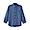 SMOKY BLUE(프렌치 리넨 워싱 · 버튼다운 7부소매 셔츠)