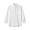 WHITE(프렌치 리넨 워싱 · 버튼다운 7부소매 셔츠)
