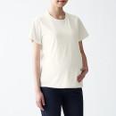 수유에 편한 · 코튼 레이온 · 반소매 티셔츠 · 마터니티