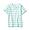 MINT GREEN STRIPE(인도 면 저지 · 티셔츠 · 키즈)