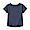 NAVY(인도 면 저지 · 티셔츠 · 키즈)