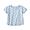 LIGHT BLUE*PATTERN(슬러브 저지 · 드롭 숄더 티셔츠 · 키즈)