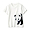 GIANT PANDA(인도 면 저지 · 프린트 반소매 티셔츠 · 키즈)