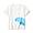 DUGONG(인도 면 저지 · 프린트 반소매 티셔츠 · 키즈)