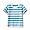 BLUE STRIPE(인도 면 저지 · 티셔츠 · 베이비)