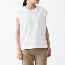 UV컷 강연 · 슬리브리스 니트 티셔츠