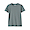 SMOKY GREEN(땀에 강한 후라이스 · 크루넥 티셔츠)