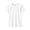 WHITE(땀에 강한 후라이스 · 크루넥 티셔츠)