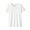WHITE(슬러브 저지 · 크루넥 티셔츠)