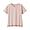 LIGHT PINK(슬러브 저지 · V넥 티셔츠)