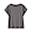 CHARCOAL GRAY(슬러브 저지 · 프렌치 슬리브 티셔츠)