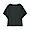 BLACK(코튼 레이온 · 돌먼 티셔츠)