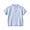 SMOKY BLUE*STRIPE(프렌치 리넨 · 반소매 셔츠)