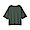 GRAYISH GREEN(슬러브 저지 · 5부소매 티셔츠)