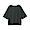 DARK GRAY(슬러브 저지 · 5부소매 티셔츠)