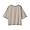 PALE BROWN(슬러브 저지 · 5부소매 티셔츠)